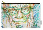 Isaac Asimov Portrait Carry-all Pouch