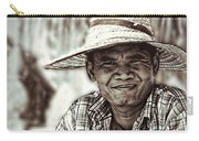 Isaan Rice Farmer Carry-all Pouch