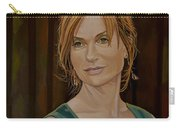 Isabelle Huppert Painting Carry-all Pouch