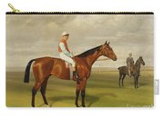 Isinglass Winner Of The 1893 Derby Carry-all Pouch by Emil Adam