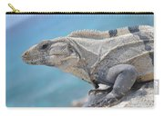 Isla Mujeres Iguana Carry-all Pouch