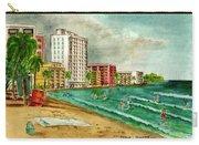 Isla Verde Beach San Juan Puerto Rico Carry-all Pouch