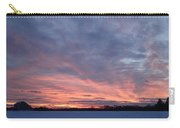 Island Barn Sunset Carry-all Pouch