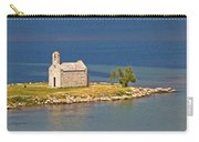 Island Church By The Sea Carry-all Pouch by Brch Photography