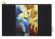 Island Martini  Original Madart Painting Carry-all Pouch