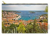 Island Of Hvar Scenic Coast Carry-all Pouch