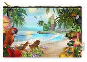Island Of Palms Carry-all Pouch