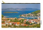 Island Of Veli Iz Panoramic View Carry-all Pouch
