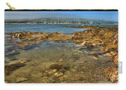 Isle Au Haut Beach Carry-all Pouch by Adam Jewell