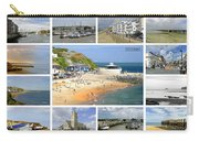 Isle Of Wight Collage - Labelled Carry-all Pouch