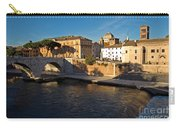 Isola Tiberina Carry-all Pouch