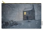 Isolated Creepy House Carry-all Pouch