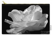 Isolated White Tulip Carry-all Pouch