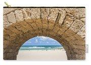Israel Caesarea Aqueduct  Carry-all Pouch