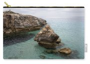 It Rocks 2 - Close To Son Bou Beach And San Tomas Beach Menorca Scupted Rocks And Turquoise Water Carry-all Pouch