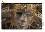 Italian Carnival Female Mask Carry-all Pouch