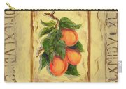 Italian Fruit Apricots Carry-all Pouch