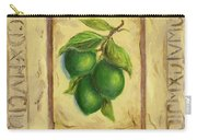 Italian Fruit Limes Carry-all Pouch