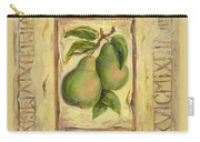 Italian Fruit Pears Carry-all Pouch