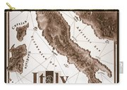 Italian Map Carry-all Pouch