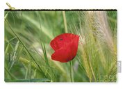 Italian Poppy Carry-all Pouch