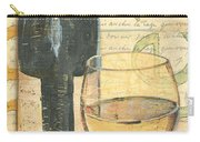 Italian Wine And Grapes 1 Carry-all Pouch by Debbie DeWitt