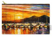 Italy Naples Harbor Carry-all Pouch