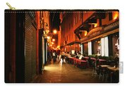 Bologna Italy Night  Scene Carry-all Pouch