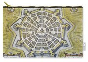 Italy: Palmanova Map, 1598 Carry-all Pouch