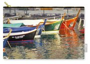 Italy Portofino Colorful Boats Of Portofino Carry-all Pouch