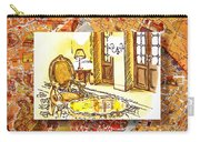 Italy Sketches Hotel Europa Regina Carry-all Pouch