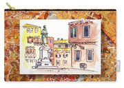 Italy Sketches Venice Piazza Carry-all Pouch