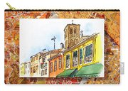 Italy Sketches Venice Via Nuova Carry-all Pouch