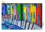 Italy - Venice - Colorful Burano - The Right Side  Carry-all Pouch