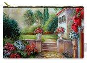 Italyan Villa With Garden  Carry-all Pouch
