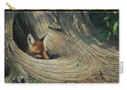 Fox - It's A Big World Out There Carry-all Pouch