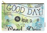 It's A Colorful Good Day By Jan Marvin Carry-all Pouch
