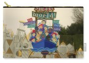 Its A Small World Fantasyland Signage Disneyland Carry-all Pouch