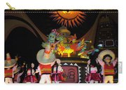 It's A Small World With Dancing Mexican Character Carry-all Pouch