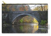 It's Autumn At The Valley Green Bridge Carry-all Pouch