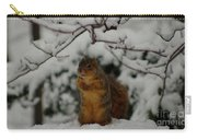 It's Cold Outside Carry-all Pouch