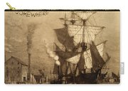 It's Five O'clock Somewhere Schooner Carry-all Pouch by John Stephens