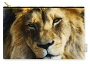 Its Good To Be King Portrait Illustration Carry-all Pouch