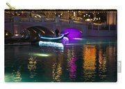 It's Not Venice - Brilliant Lights Glamorous Gondolas And The Magic Of Las Vegas At Night Carry-all Pouch