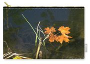 It's Over - Leafs On Pond Carry-all Pouch