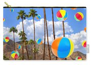 Its Raining Beach Balls Palm Springs Carry-all Pouch
