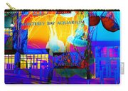 Its Raining Jelly Fish At The Monterey Bay Aquarium 5d25177 Square Carry-all Pouch