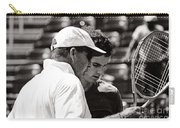 Ivan Lendl And Andy Murray  Carry-all Pouch by Nishanth Gopinathan