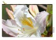 Ivory Azalea Carry-all Pouch