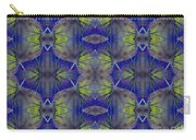 Ivy Abstract 1 Green Blue Carry-all Pouch
